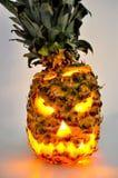 Ditch the Pumpkin and Carve a Spooky Pineapple Jack-o'-Lantern Instead - Get the DIY