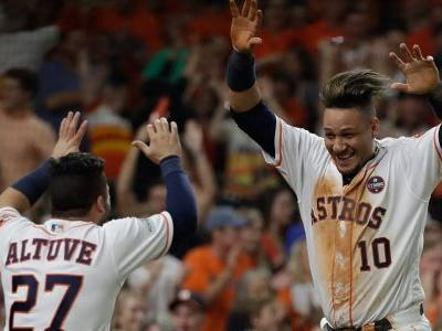 Astros shut out Yankees to reach first World Series since 2005