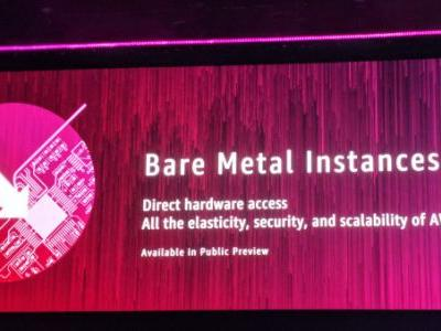 AWS launches bare metal instances