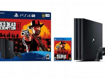 Red Dead Redemption II PS4 Pro Bundle Announced