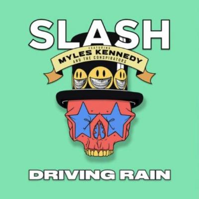 SLASH And MYLES KENNEDY Discuss Their New Album 'Living The Dream'; First Single 'Driving Rain' Available On SPOTIFY