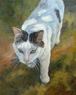 Schroeder Oil Cat Painting Pet Art Animal Commission Portrait