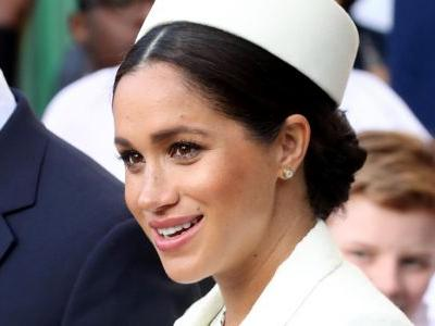 Meghan Markle's White Outfit At The Commonwealth Day Service Features This Royalty-Approved Accessory