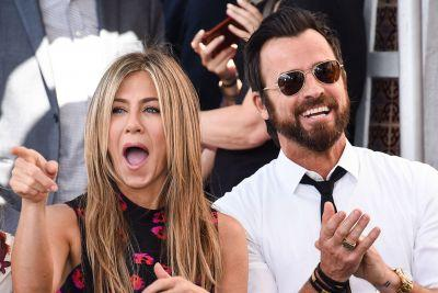 Jen and Justin let loose and more star snaps