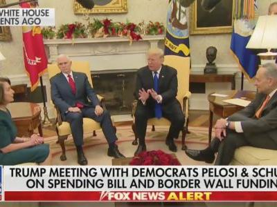 Surreal Clash Between Trump, Pelosi and Schumer Leaves Observers Stunned: 'What a Freaking Circus'