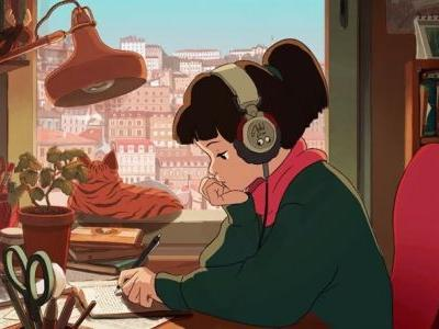 The '24/7 lo-fi hip hop beats' girl is our social distancing role model