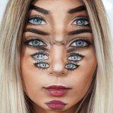 This Trippy Eyeball Optical Illusion Makeup Tutorial Will Make You Dizzy For Days