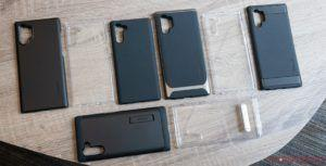 Here are Spigen's Samsung Galaxy Note 10 and Note 10+ cases