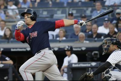 Red Sox riding high, take on Rangers