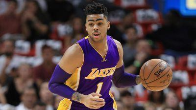 Lakers reportedly trade D'Angelo Russell, Timofey Mizgov to Nets for Brook Lopez, No. 27 pick