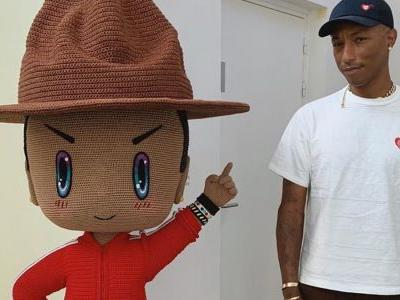 Pharrell Williams and Japanese artist Mr. open new exhibition in Paris