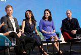William, Kate, Harry, and Meghan Giggle Their Way Though Their First Onstage Appearance Together