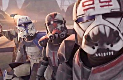 New The Clone Wars Season 7 Trailer Introduces the Bad Batch: