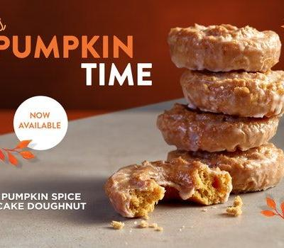 How Long Will Krispy Kreme's Pumpkin Spice Doughnut Be Available? Eat Up This Fall