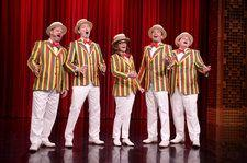 Tina Fey Joins Jimmy Fallon's Ragtime Gals for Least Sexy Bruno Mars Cover Ever