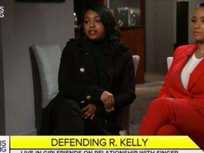 'We are in a relationship with R. Kelly': Women whose parents claim are being held against their will say their families are telling 'lies for money' and that one of their fathers asked for 'sexual videos' with the singer for blackmail