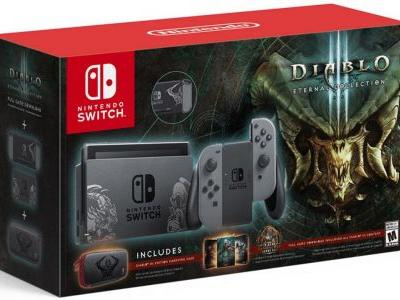 Gamestop Exclusive Diablo III Switch Bundle Preorders are Up