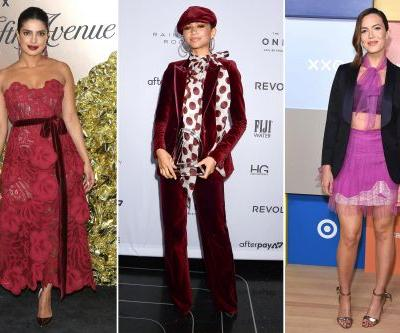 Celebrities front row at New York Fashion Week 2019