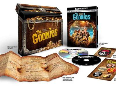 'The Goonies' Exclusive Giftset 4K Ultra HD Pre-Order Up at Amazon