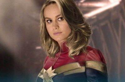 What the New Captain Marvel Suit Looks Like in Classic