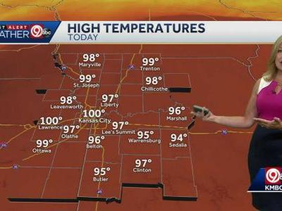 Saturday could be hottest of our heat wave