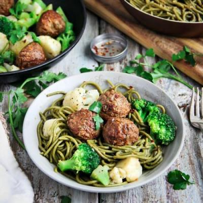 Meatless Meatballs with Cauliflower