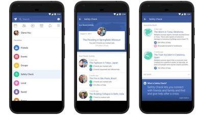 Facebook's Safety Check getting permanent placement in Android app and the web