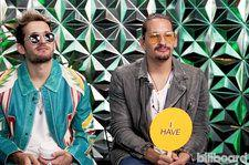 Mau y Ricky Reveal if They Have Been in Handcuffs in 'Never Have I Ever' Video