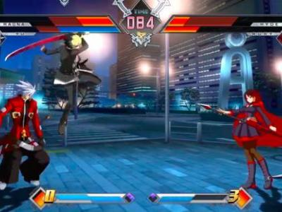 Watch 10 Minutes of BlazBlue Cross Tag Battle Gameplay