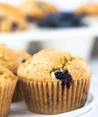 Easy Recipe for Gluten Free Blueberry Muffins