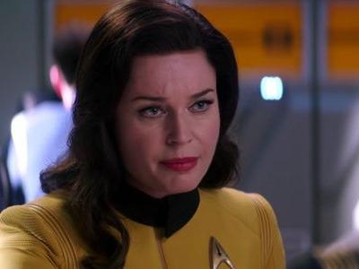 'Star Trek Discovery' Reveals First Look at Rebecca Romijn as Number One