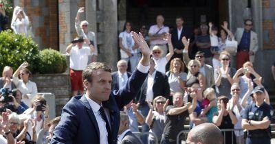 Rout by Macron's party expected in French parliament vote