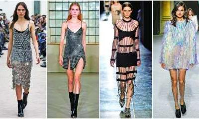 Shimmer & shine: Crystals, beads and paillettes redefine the idea of 3D sparkle this Fall Winter