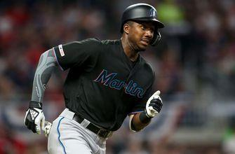 Marlins OF Lewis Brinson optioned to Triple-A New Orleans; Garrett Cooper reinstated