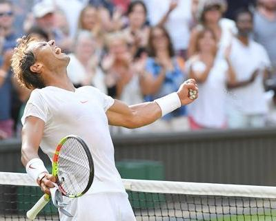 Irrepressible Nadal marches past Vesely into last eight