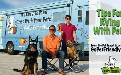 Tips for RVing with Pets