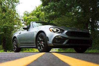 The 2017 Fiat 124 Spider Abarth Puts You On Display But You Won't Mind