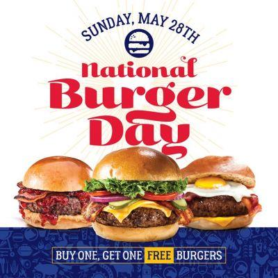 Arooga's Grille House & Sports Bar to Serve Free Wagyu Hamburgers on National Hamburger Day: Sunday, May 28, 2017