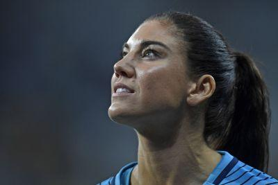 Hope Solo wants to end exile, but knows the feeling's not mutual