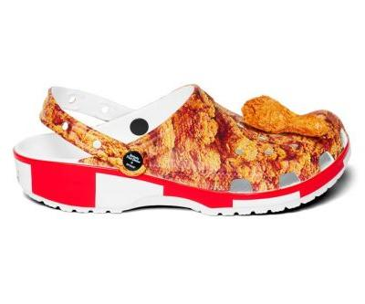 KFC Celebrates Its Signature Fried Chicken With Crocs Collab