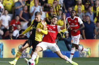 Watford draws with Arsenal on Flores return, Everton loses
