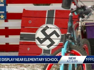 District officials 'sickened' by swastika, Confederate flag paintings near elementary school