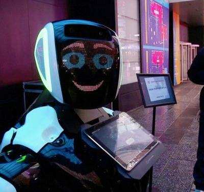 The company behind the robot kicked out of a New York park has a new version that it says can screen people for COVID-19