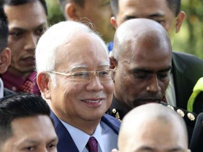 Former Malaysia leader charged with breach of trust, graft