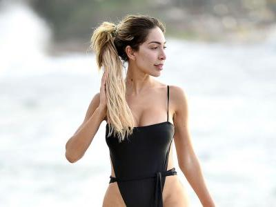 Farrah Abraham Is a Total Smoke Show in Booty-Baring Black Swimsuit