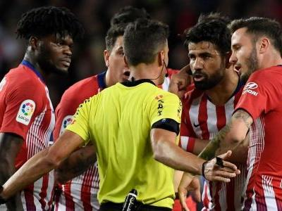 Diego Costa red card for derogatory comments about referee's mother - ref's report