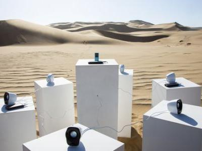 A Sound Installation That Plays Toto's 'Africa' Is Waiting There For You In The Desert