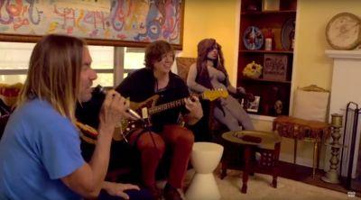 Watch Iggy Pop Tell Thurston Moore Stooges Stories and Jam Some Chuck Berry in New Short Film
