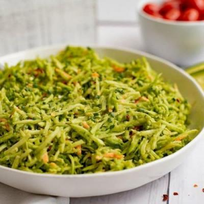 Broccoli Slaw Salad Ranch Dressing