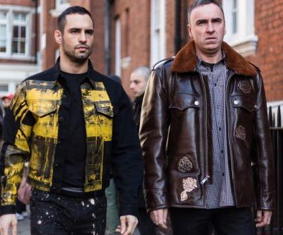 Raf Simons Showed up During London Fashion Week's AW18 Festivities